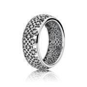 190955cz Pandora Intricate Lattice Ornate Band Ring