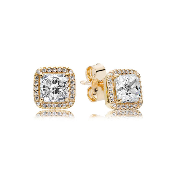 250327CZ timeless elegance stud earrings pandora