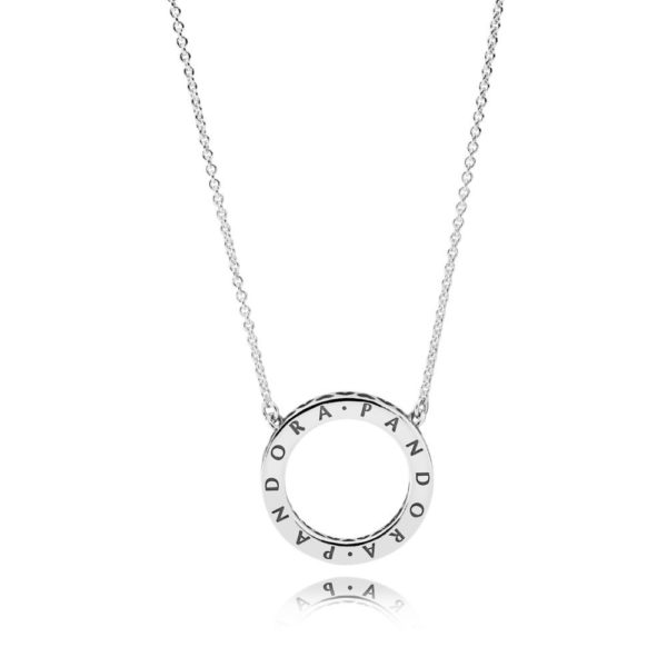 590514cz Hearts of Pandora necklace