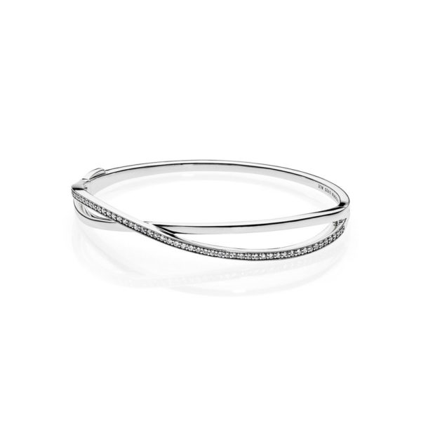 590533CZ entwined bangle pandora