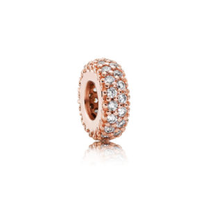 781359cz Pandora Rose Pavé Inspiration Within Spacer Charm