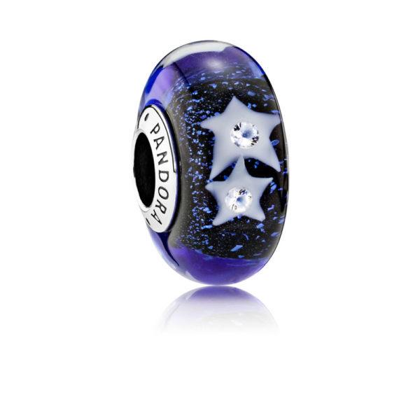 791662CZ pandora night sky charm murano