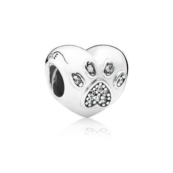 791713cz Pandora I Love My Pet Heart Charm