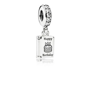 791723cz Pandora Birthday Wishes Pendant Charm