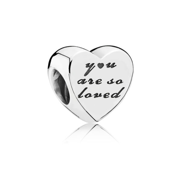 791730 Pandora You are so loved charm