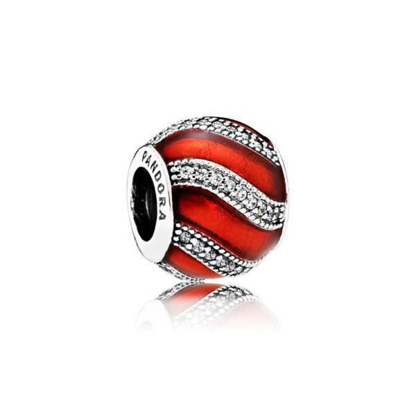 791991en07 pandora red adornment charm