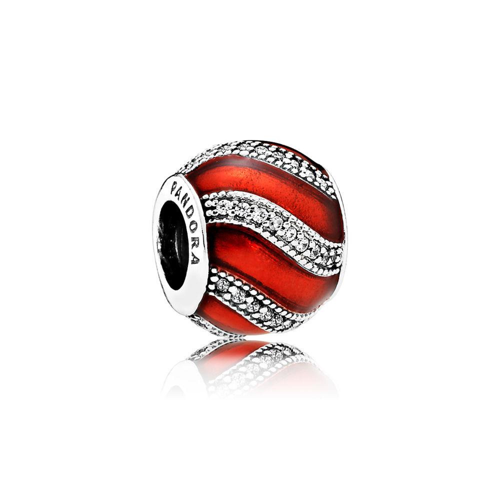 791991en07 pandora red adornment charm
