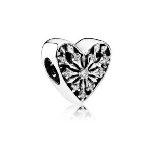 791996cz pandora frosted heart