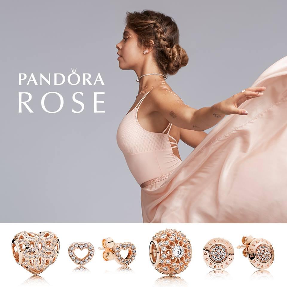 Pandora rose collection Australia live event October