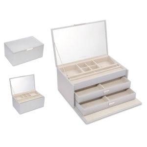 PANDORA Dove Grey Large Jewellery Box 75004