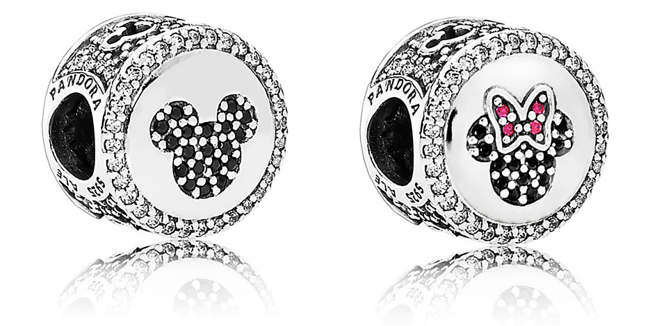 Mickey and Minnie Mouse Icon Charm by PANDORA - Limited Release