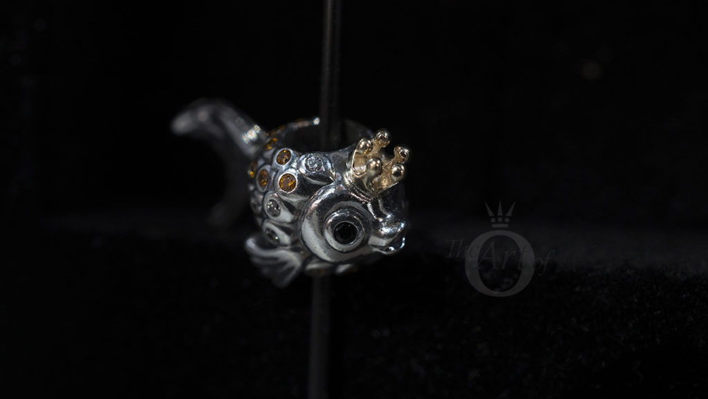 792014ccz pandora russian fairytale fish charm