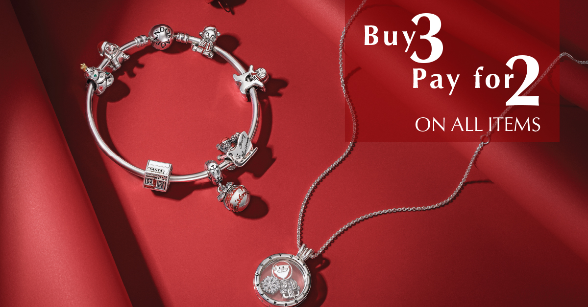 pandora promotion south africa buy 3 pay for 2