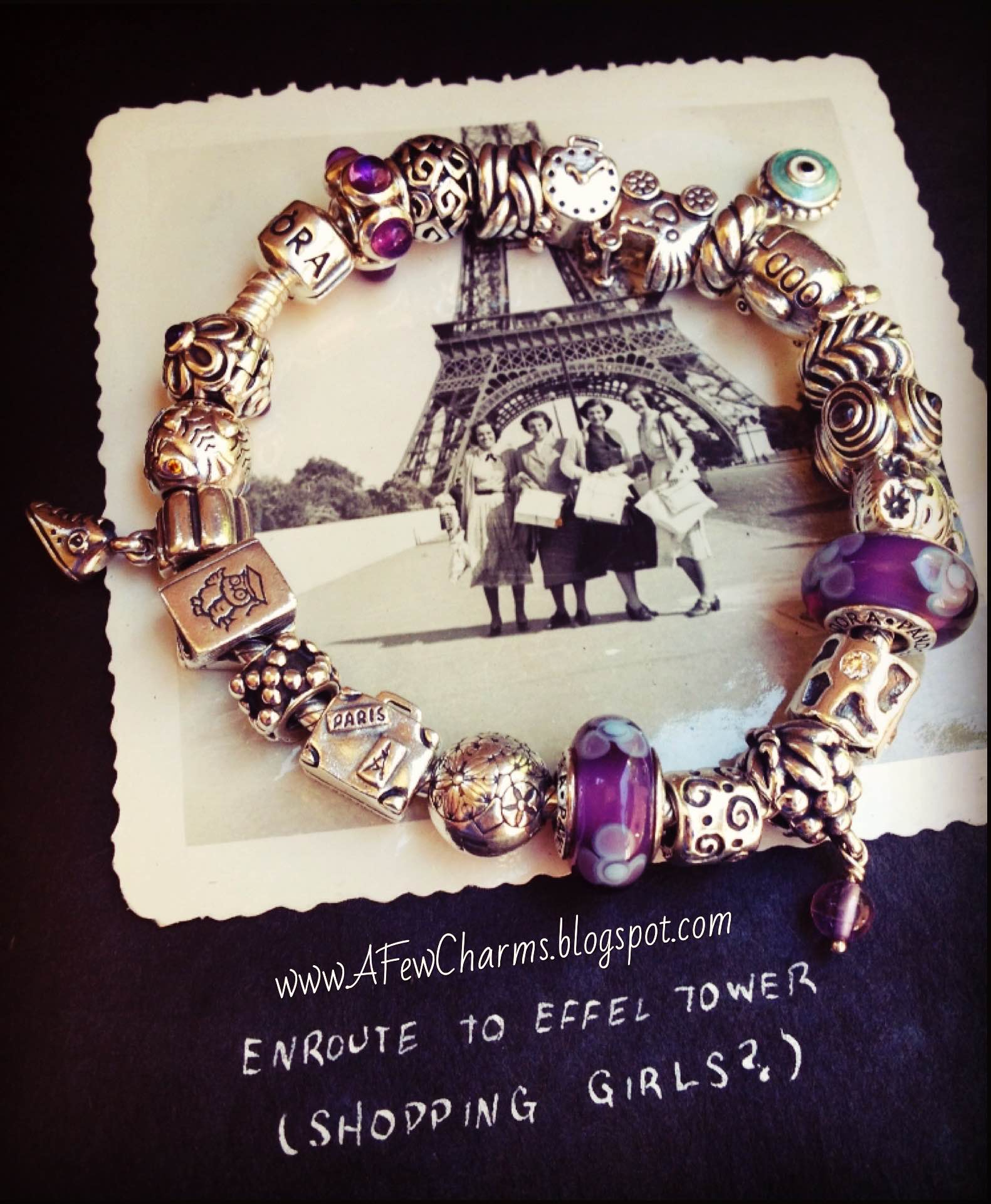 afewcharms paris forever pandora competition winner