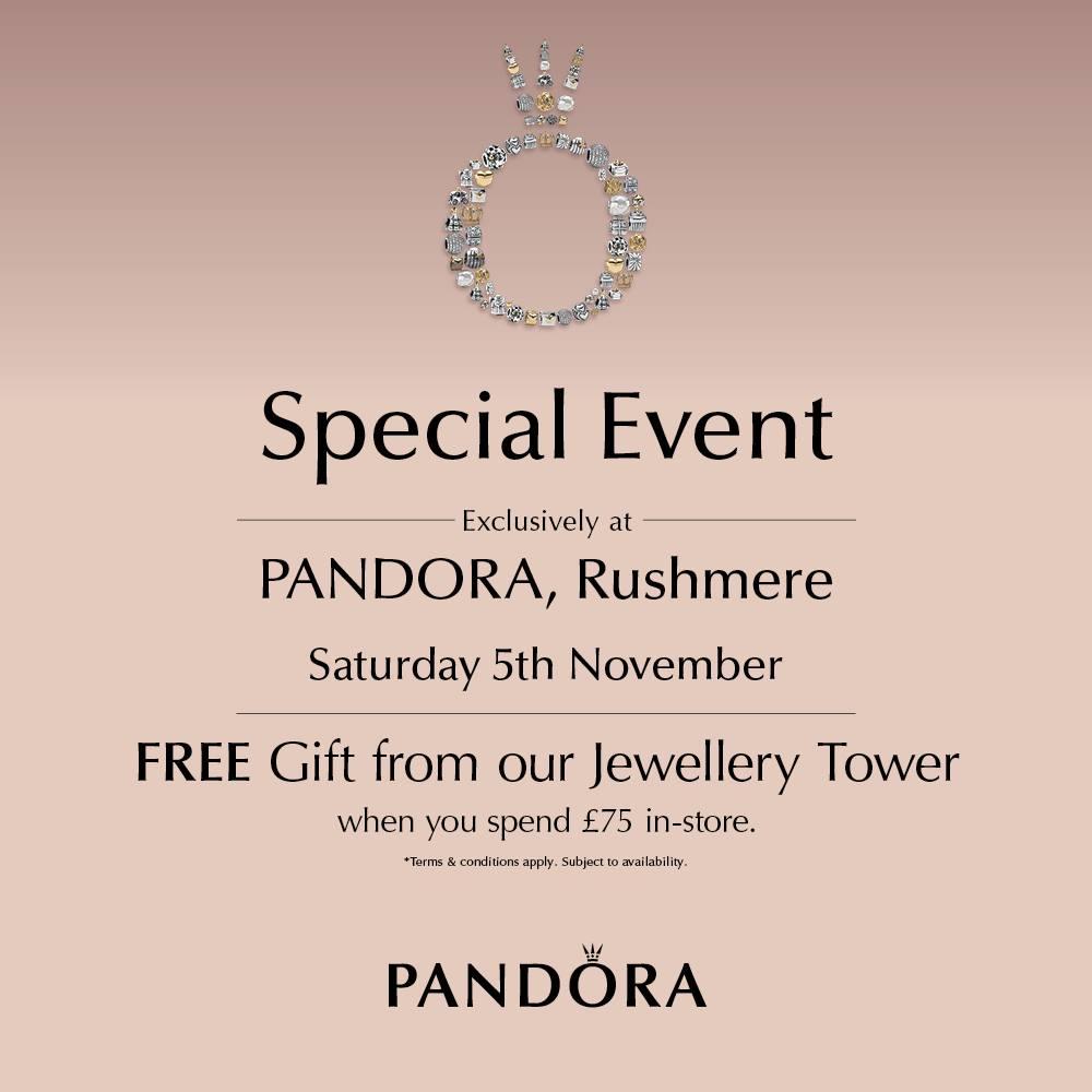 pandora tower event rushmere