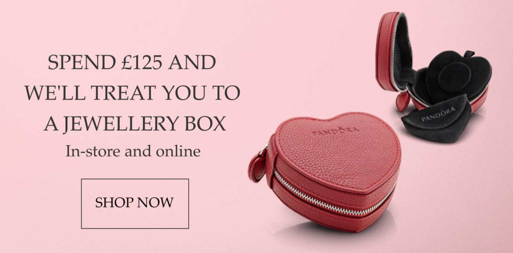 Free PANDORA Jewellery Box Promotion – The Art of Pandora