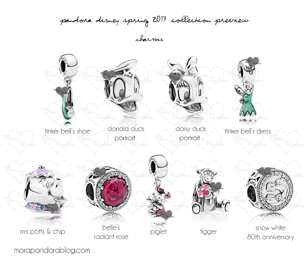 Pandora Disney 2017 Spring Collection Preview The Art Of