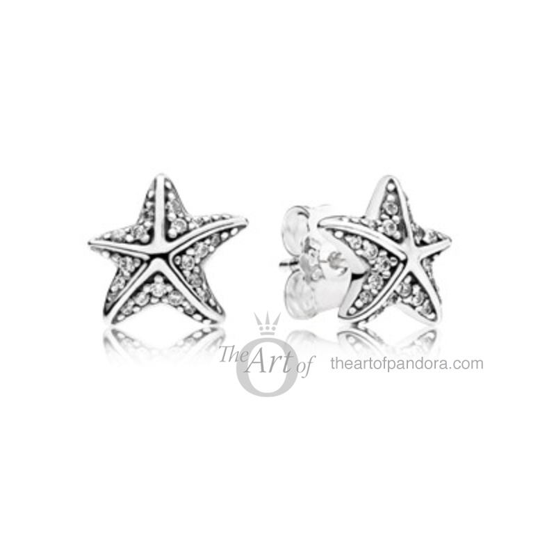Tropical Starfish Earrings pandora summer 2017