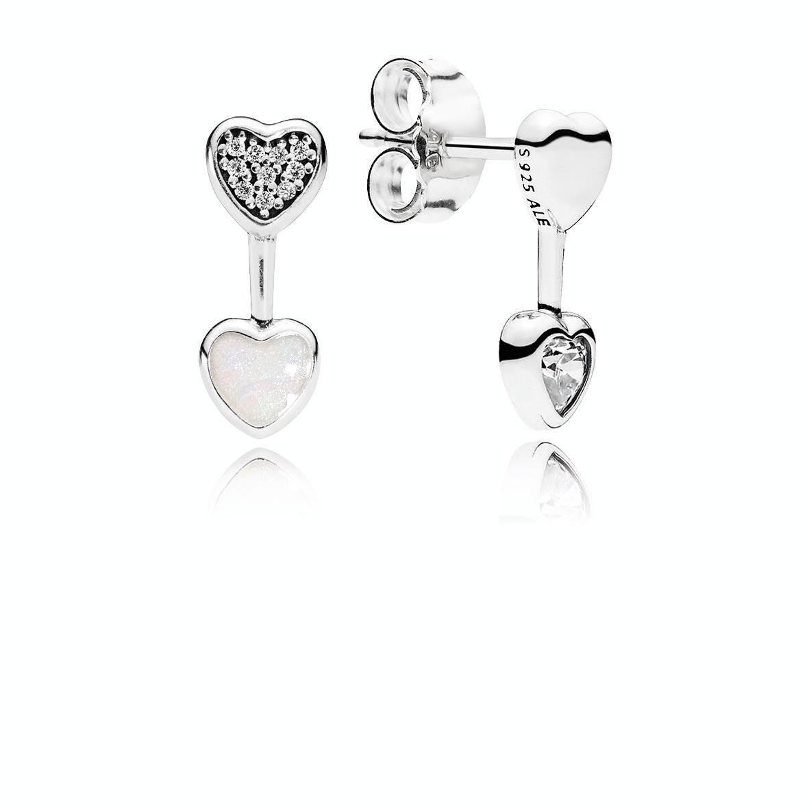Hearts Of Love Earrings The Art Of Pandora