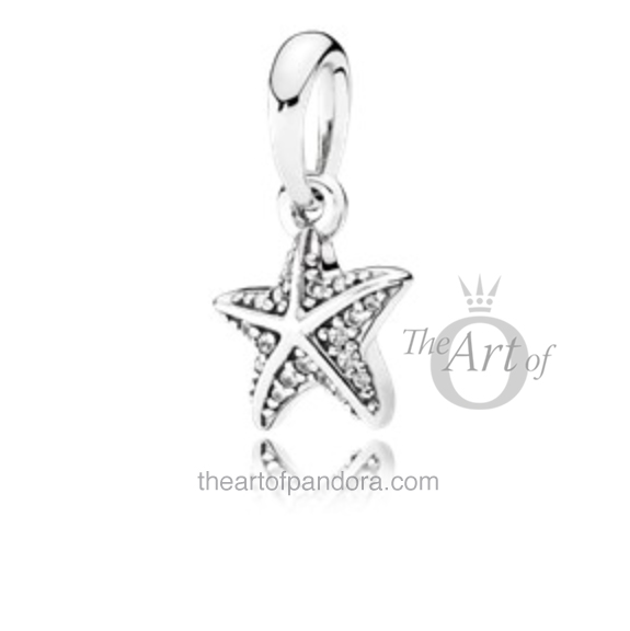 Tropical Starfish Pendant pandora summer 2017