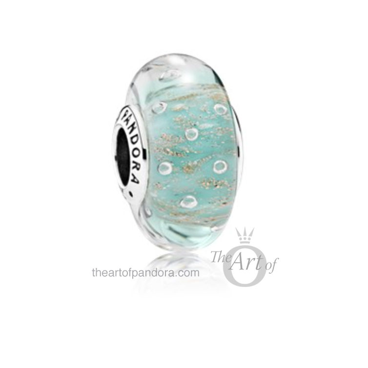 791669-Mint-Glitter-Murano-mr pandora summer 2017