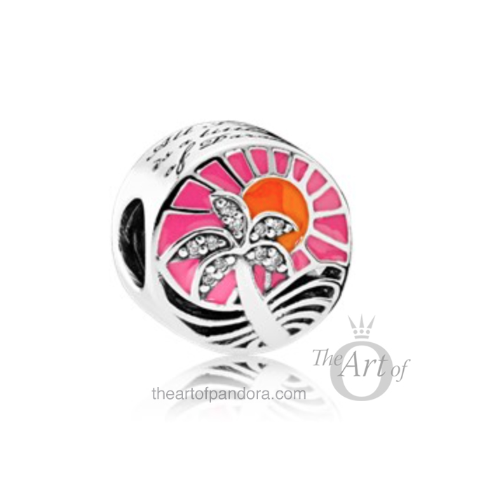 Tropical Sunset pandora summer 2017
