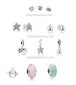 pandora summer 2017 earrings muranos pendants