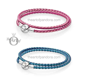 pandora summer 2017 leather bracelets