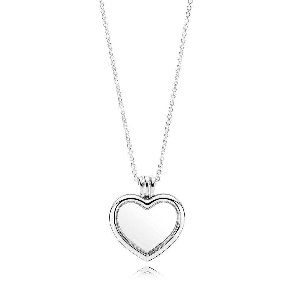 PANDORA HEART LOCKET NECKLACE