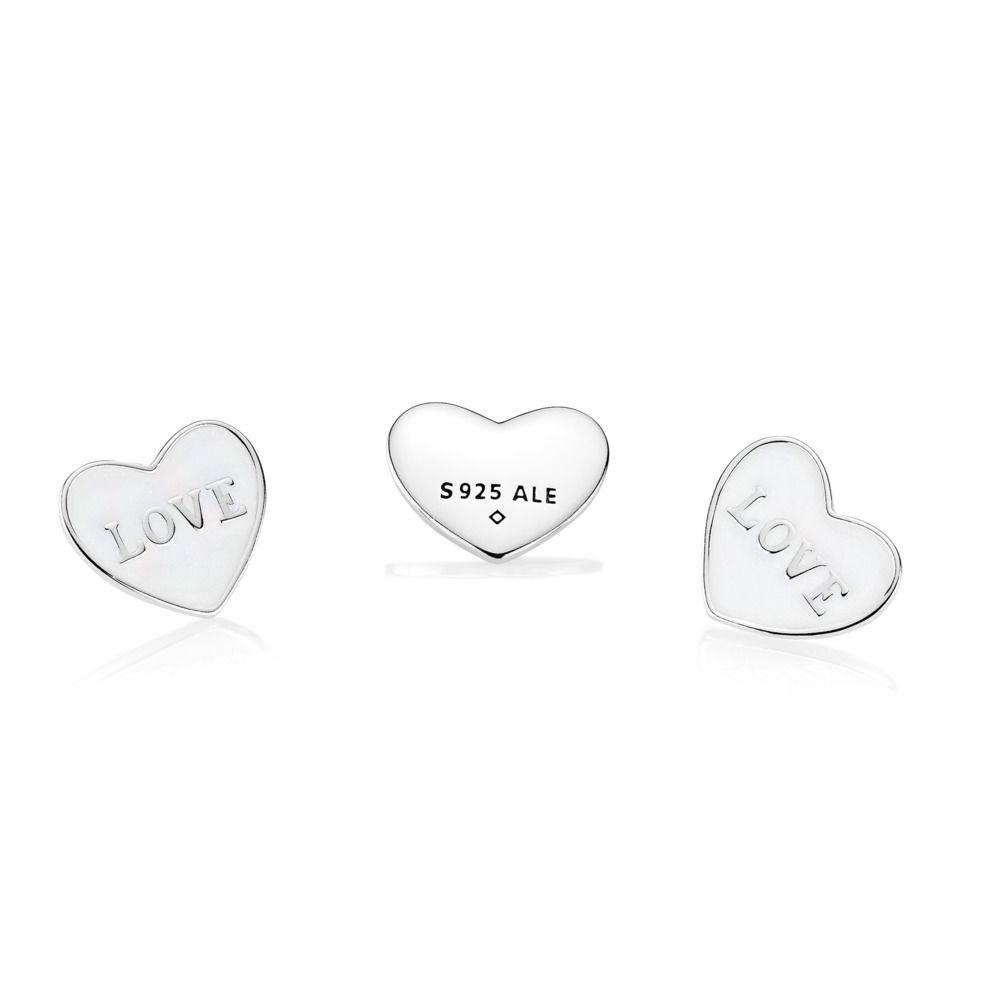 LOVE HEART LOCKET PLATE - SMALL