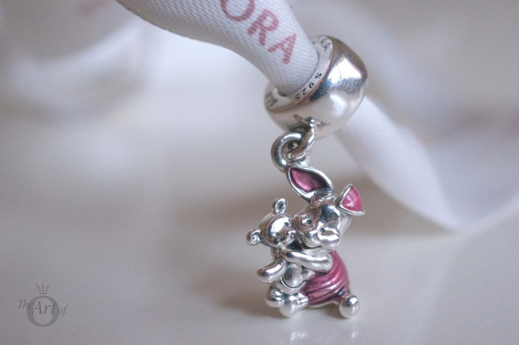 91b97fac7 ... PANDORA Disney Tigger Charm Ideally, I would have preferred a threaded  charm Piglet charm, like the Tigger and ...