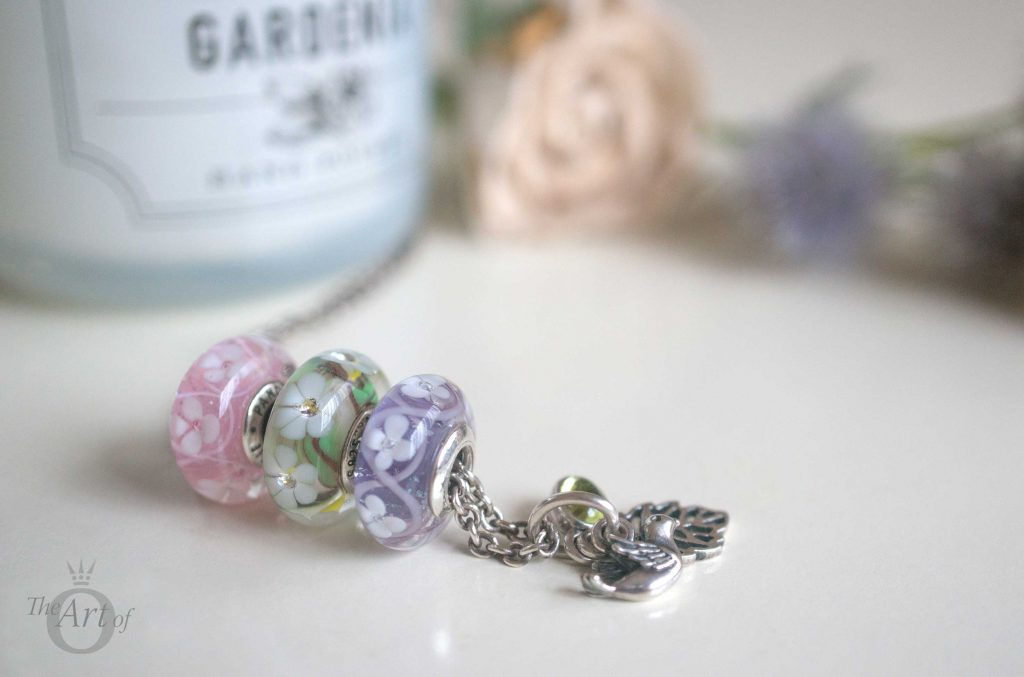 Review Pandora Field Of Flowers Murano Charms The Art