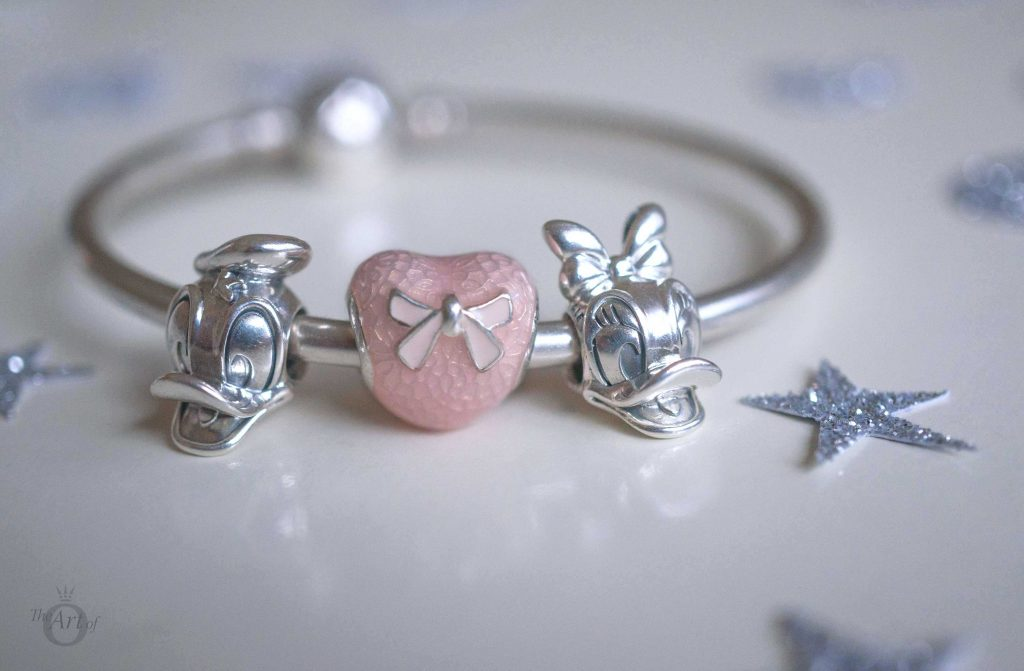 Daisy Duck Portrait Charms No. 792137 pandora disney Donald Duck No. 792136