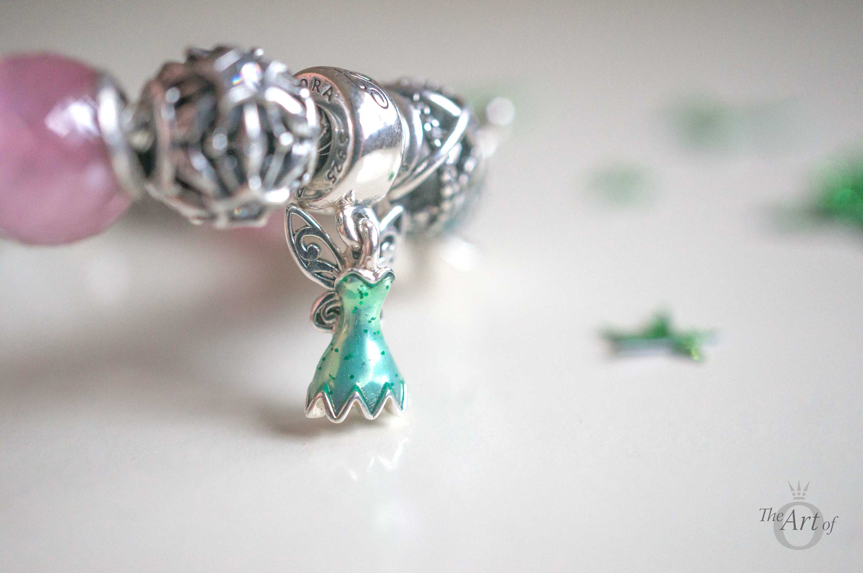 New Review Of Pandora Disney Tinker Bell S Dress The Art