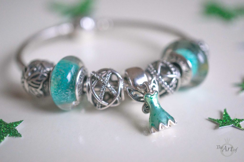 Next I Created A Mini Bracelet On PANDORA Bangle Love Using For When Dont Want Full It Is Also Great Way To Add Focus