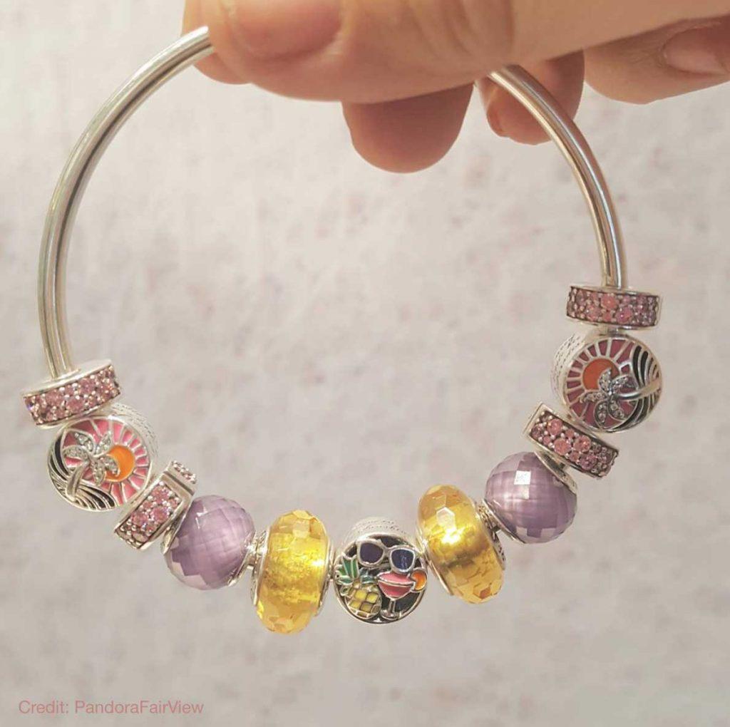 pandora bracelet yellowing