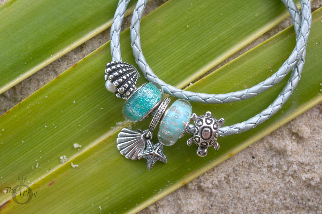 PANDORA Summer 2017 collection Under the Sea Tropical Starfish & Seashell Pendant Charm 792076CZF