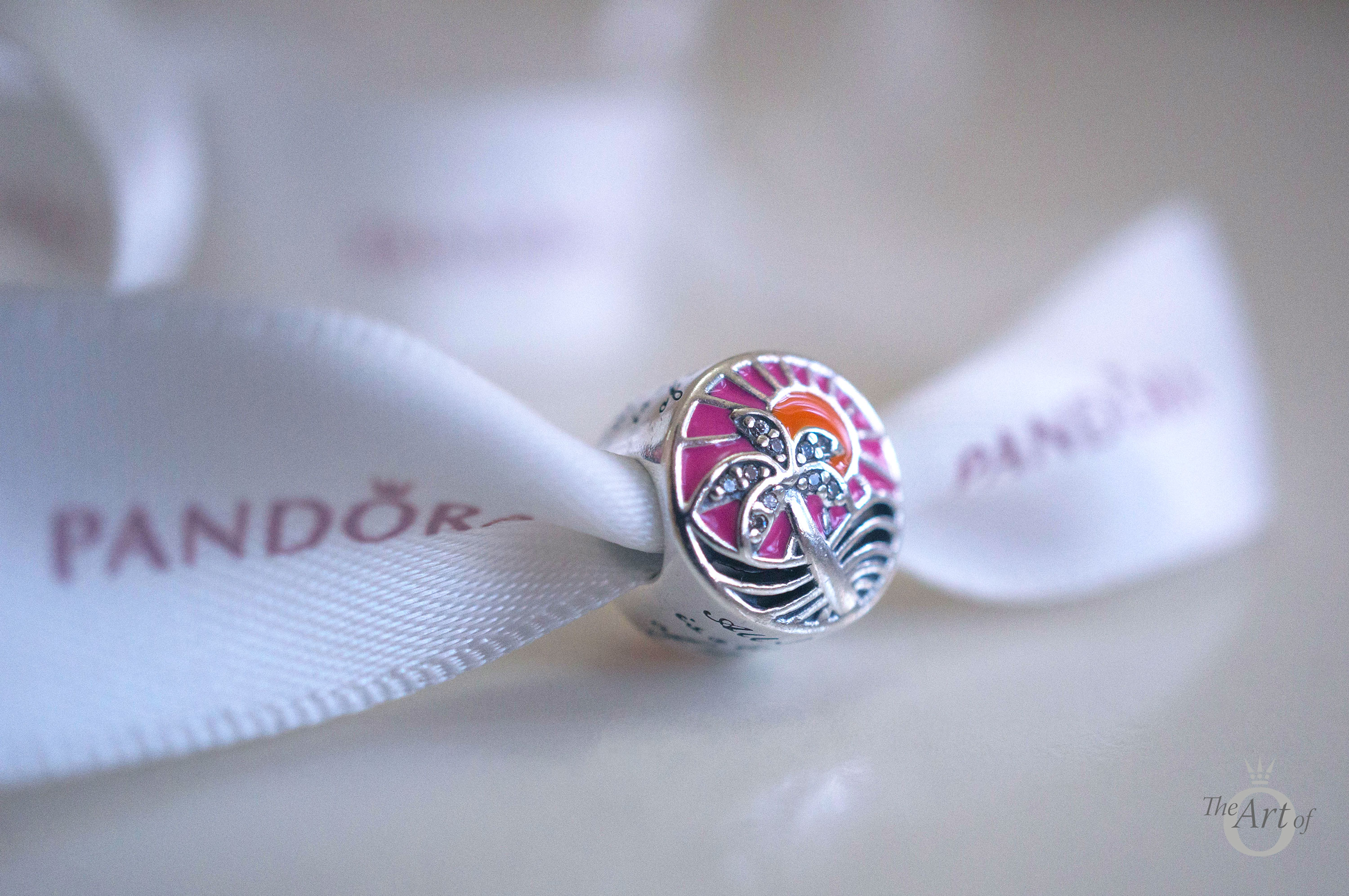 Pandora 792116ENMX tropical sunset pandora summer 2017