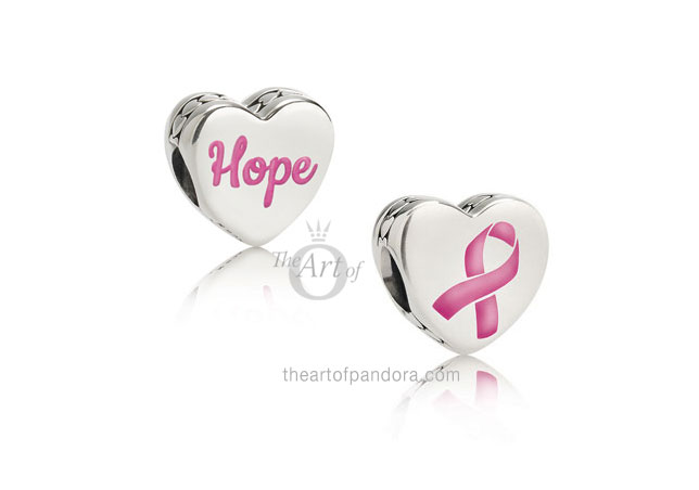 f34cc36c9 The Limited Edition PANDORA Breast Cancer charms will be available online  at our preferred PANDORA retailer BeCharming.com or by phone on (800)  878-7868.