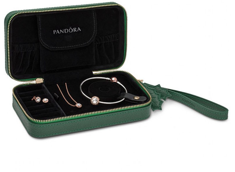 382611641a8 Plus PANDORA Rose™ Classic Elegance earrings all presented in a lovely  green jewellery box. Retail value of $475. Available in three sizes; 17cm,  ...