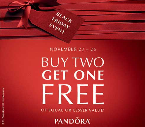 Pandora Black Friday 2017 The Art Of Pandora More Than