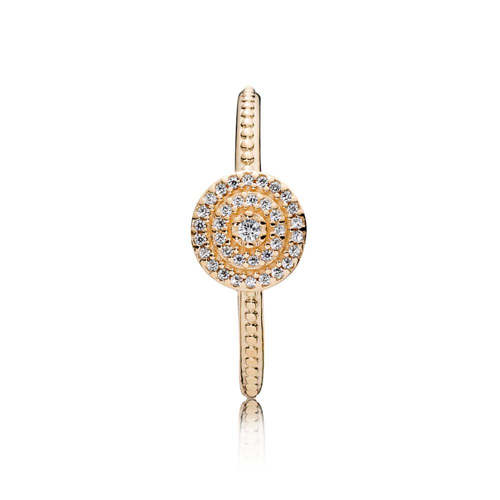 ec5f82f844382 Radiant Elegance Ring, 14K Gold