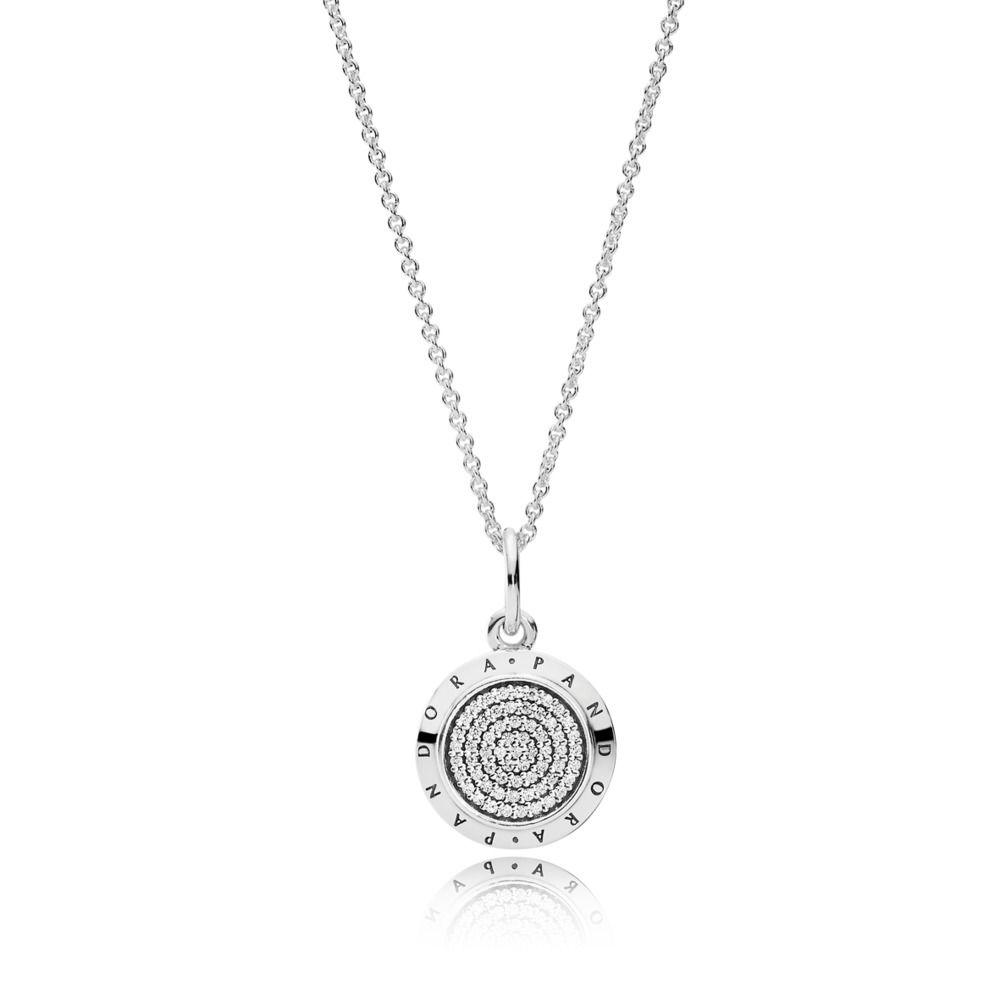 390375cz Pandora Signature Necklace