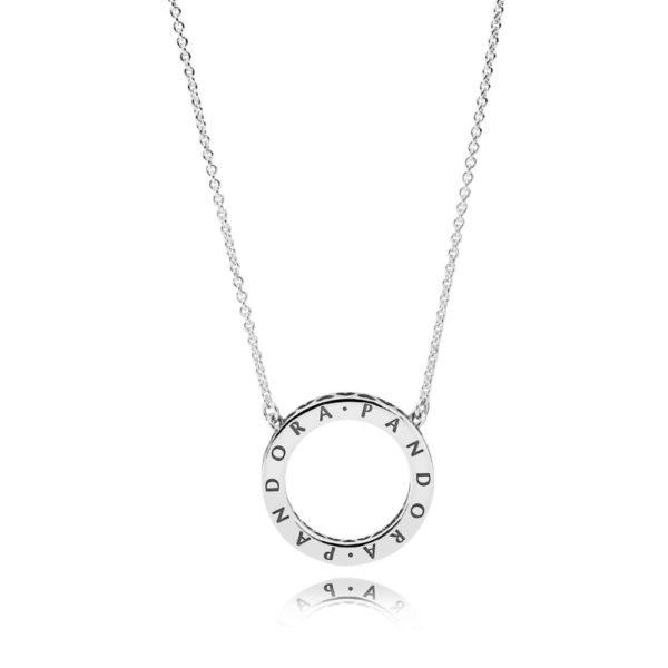 590514cz Hearts of Pandora necklace