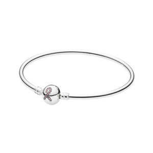 590725czs Pandora Limited Edition Breast Cancer Awareness Bangle 2015