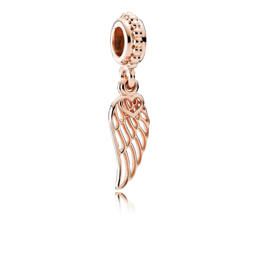 781389 Pandora Rose Love and Guidance Charm Pendant Dangle Rose Gold