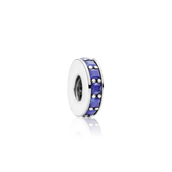 791724ncb Pandora Royal Blue Crystal Eternity Spacer Charm