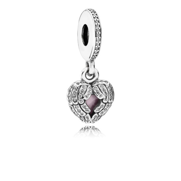 791737cz Pandora Angel Wings Pendant Charm
