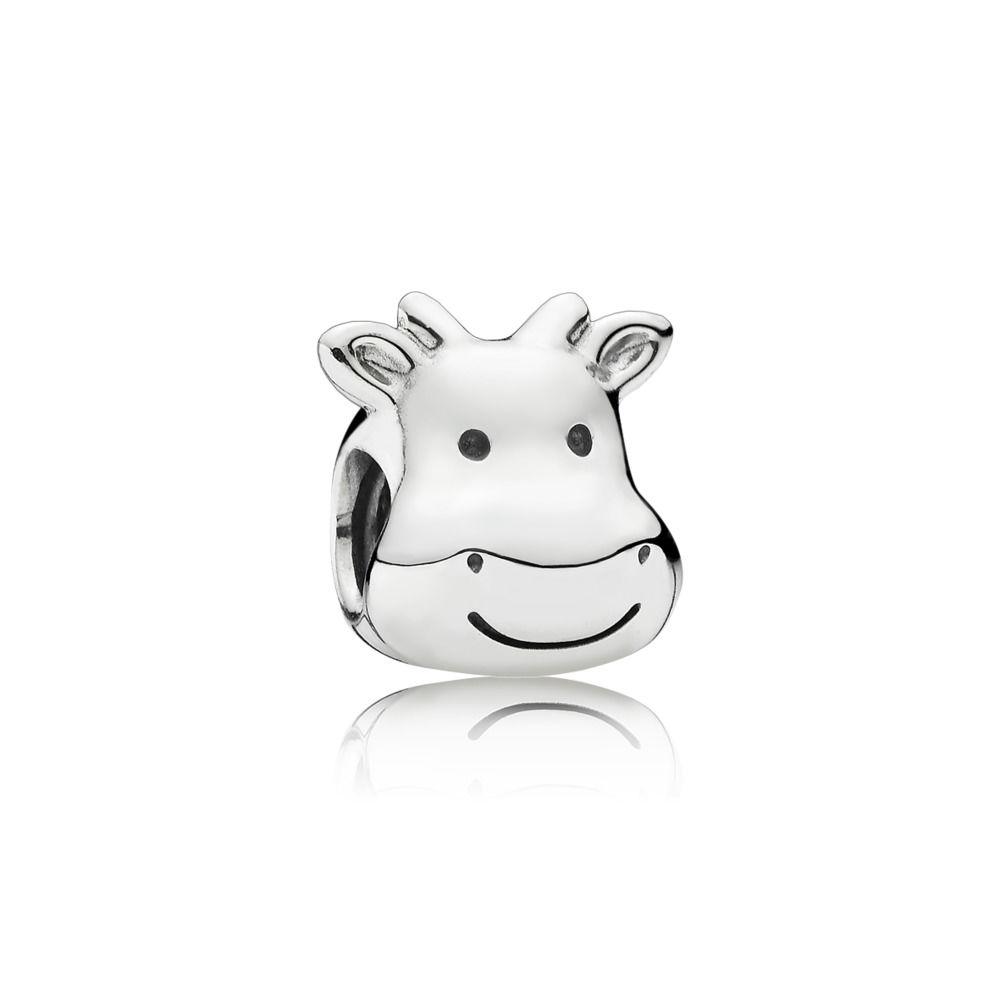 791748 Pandora Cheerful Cow Charm