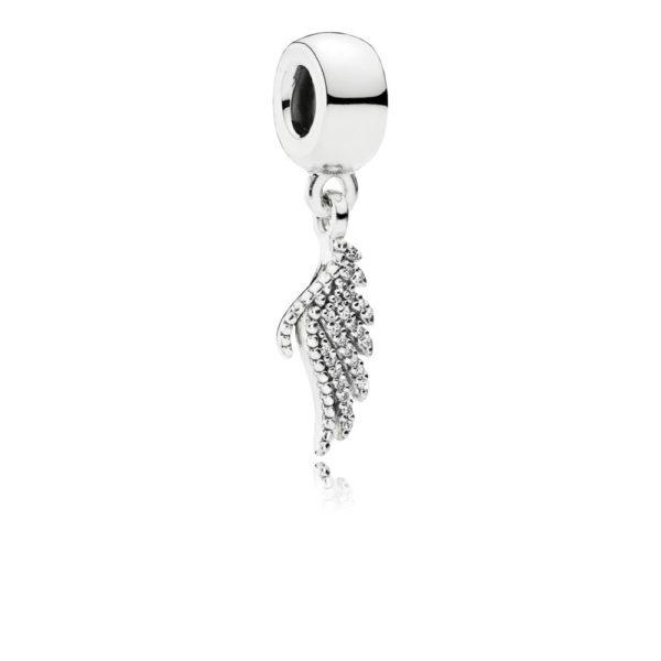 791750cz Pandora Majestic Feathers Charm